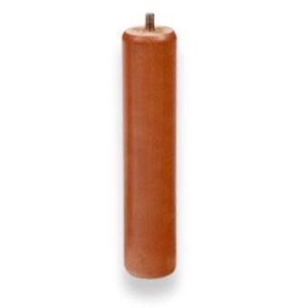 Pata somier madera rendonda 25 cm - Patas de madera para somier ...